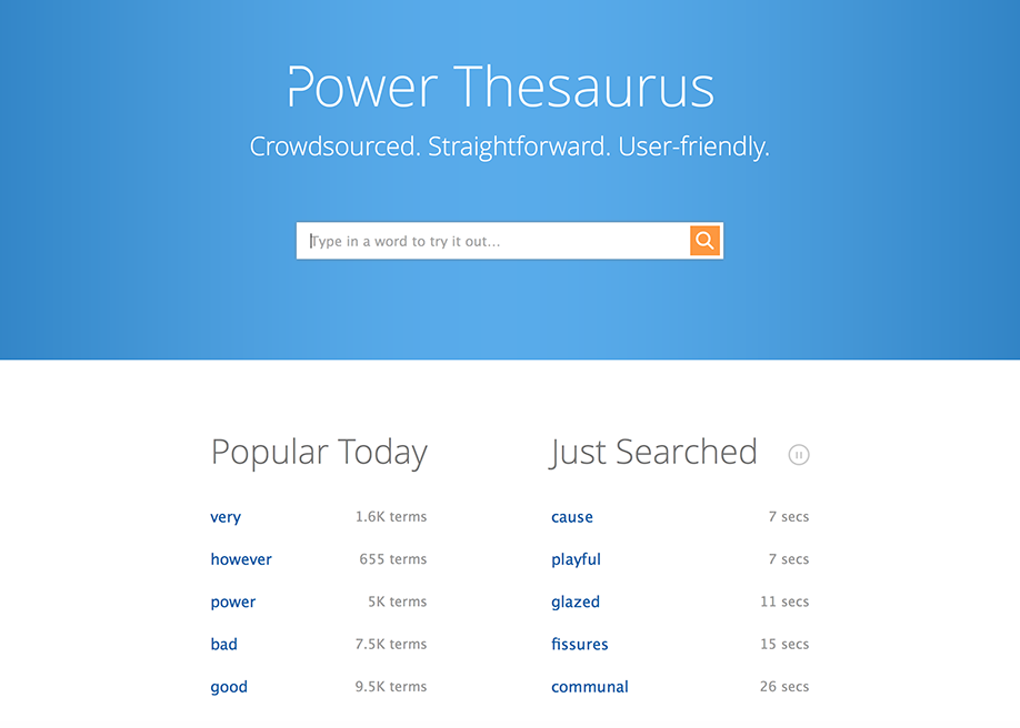 Power Thesaurus: Best Google Chrome Extensions