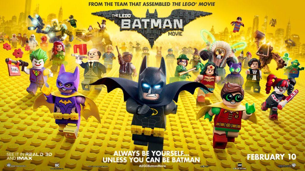 Lego Batman Movie:  Must Watch Superhero Movies for kids