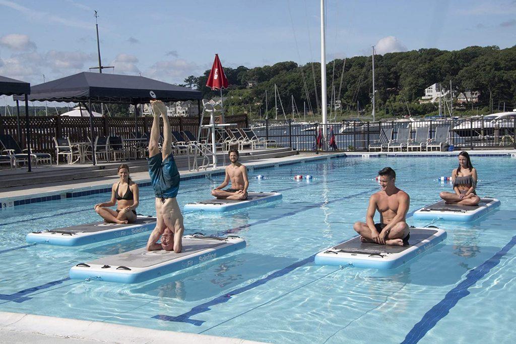 Swimline SolFit Aquatic Fitness Mat: Best Summer Gadgets for 2021