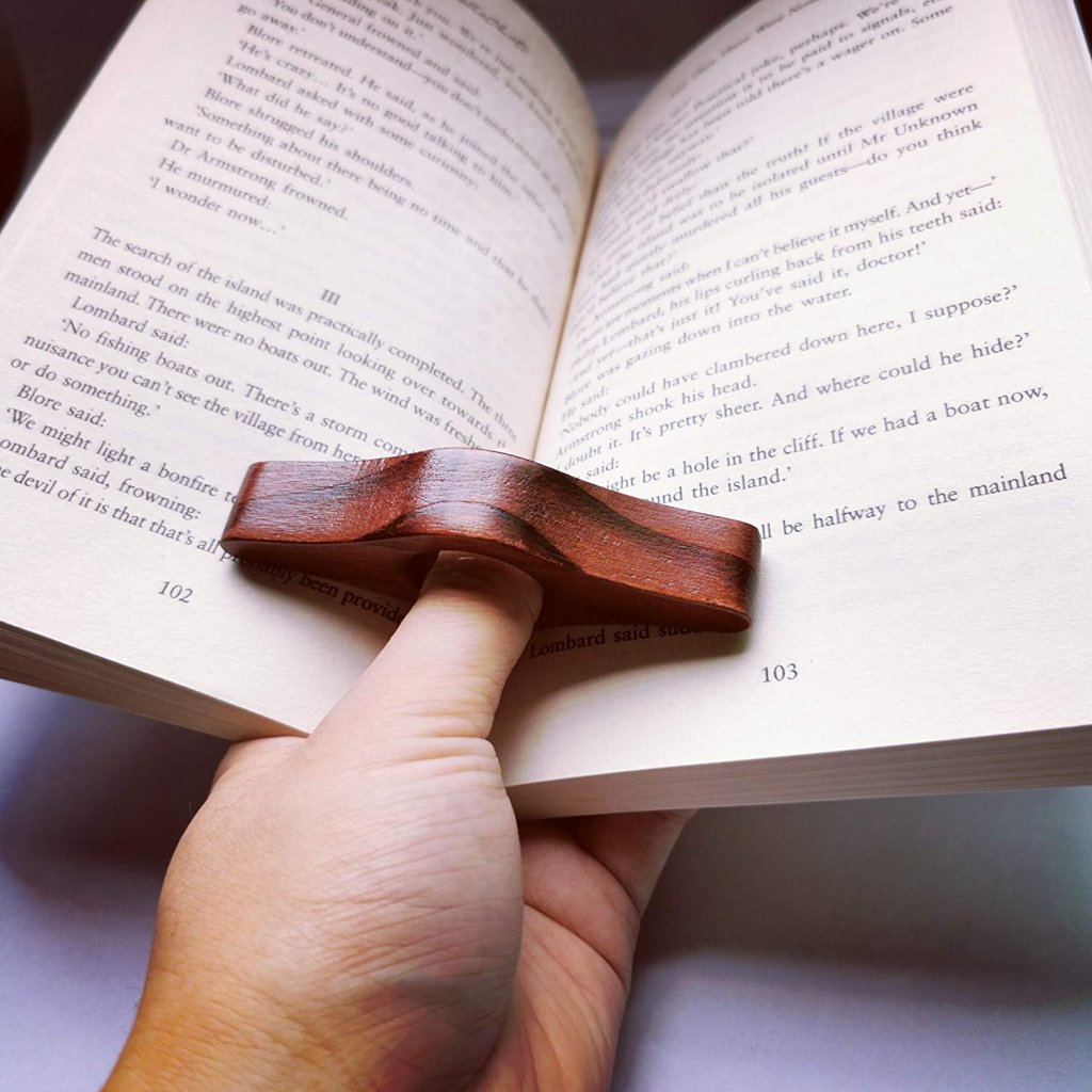 Thumb Page  Holder: Best Book Reading Gadgets