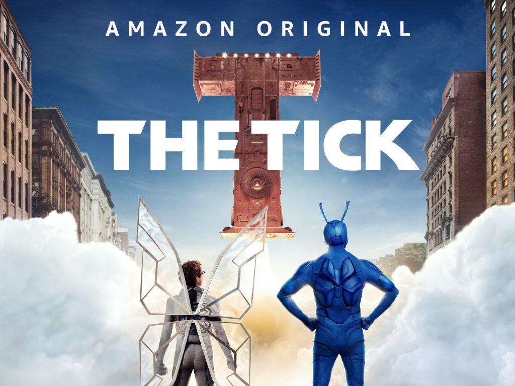 The Tick Poster: Best Superhero Shows on Amazon Prime