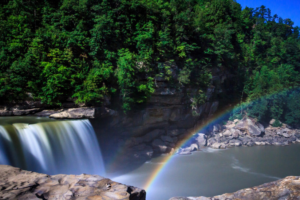 Moonbow at Cumberland Falls:  The Ultimate Kentucky Summer Bucket list for your perfect holiday