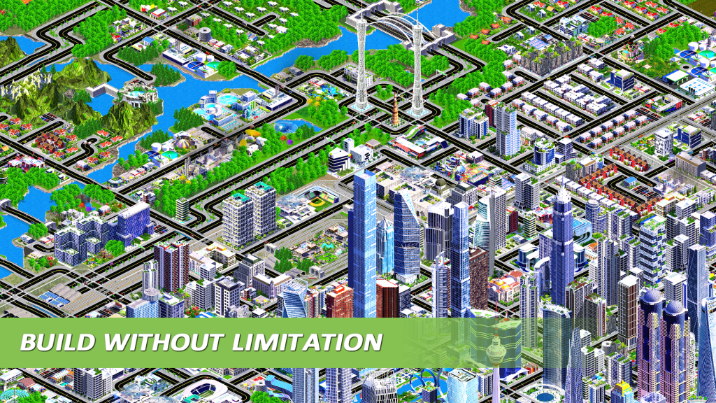 Designer City: Best City Building Games for Mobile and PC