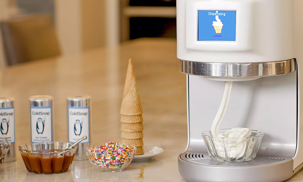 ColdSnap Frozen Treat Machine: Best Summer Gadgets for 2021