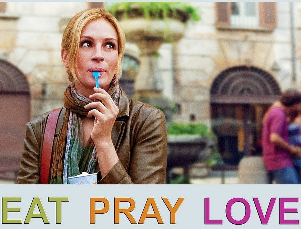Eat, Pray, Love:  Best Travel Movies That will inspire your bucket list