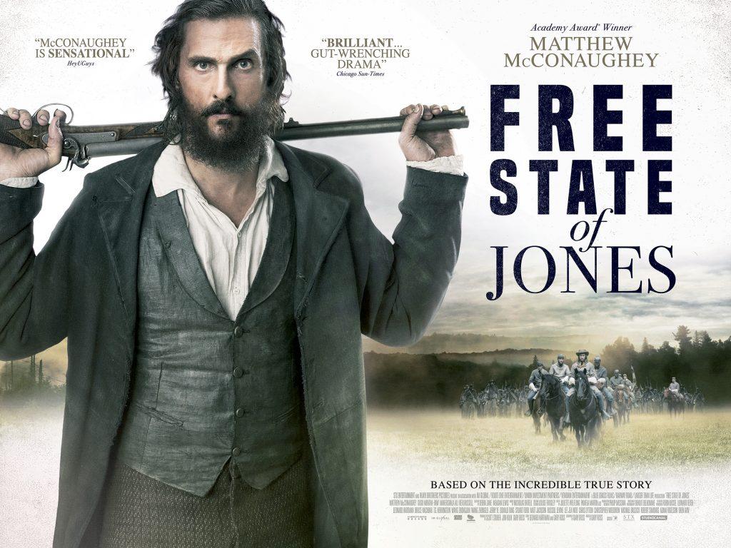 Matthew McConaughey in Free State Of Jones: best hybrid action genre movies