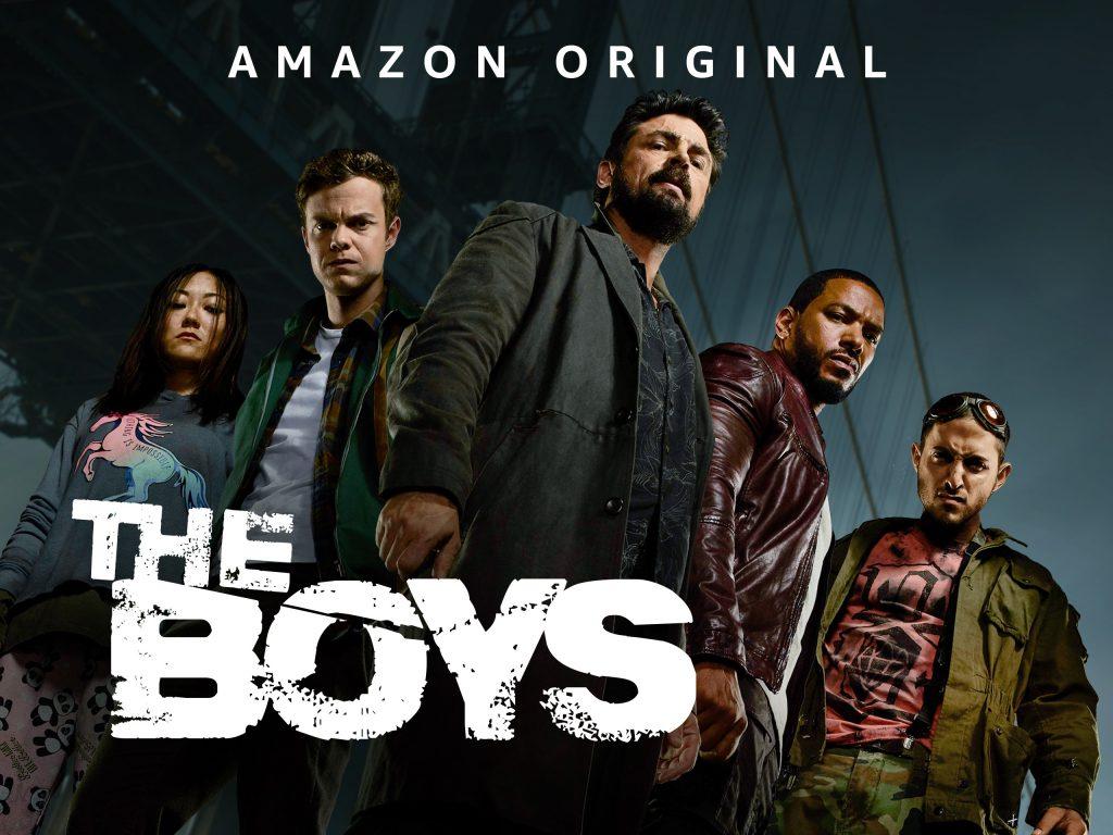 The Boys Poster: Best Superhero Shows on Amazon Prime