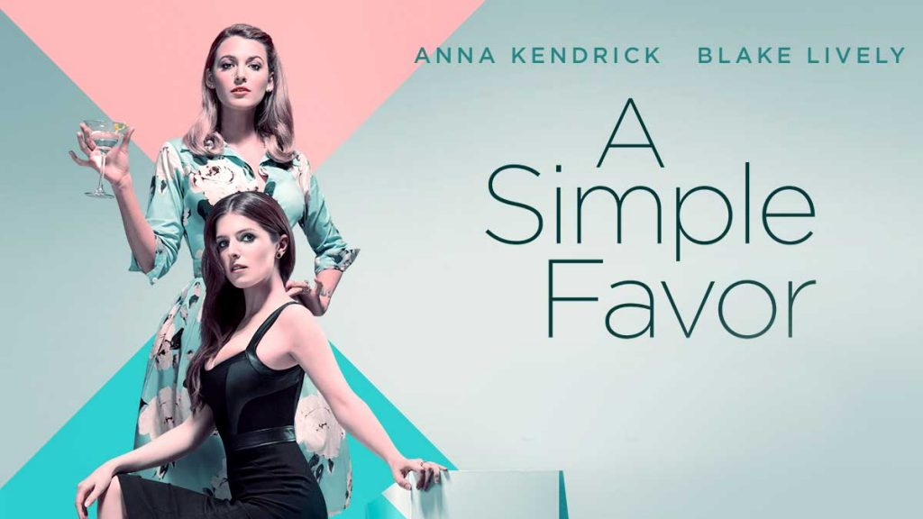 A Simple Favor Poster: best hybrid action genre movies