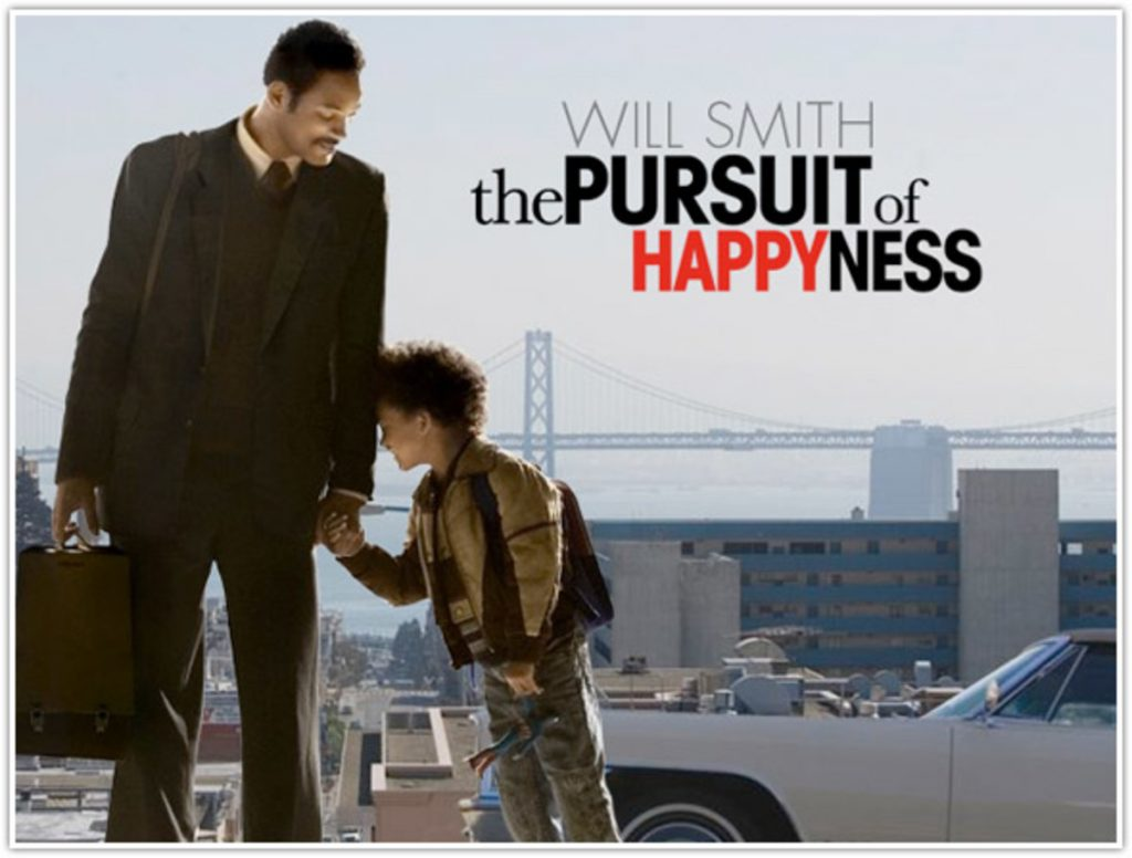The Pursuit of Happyness:Best movies for MBA students