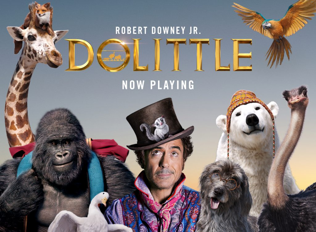 Dolittle Poster: best hybrid action genre movies