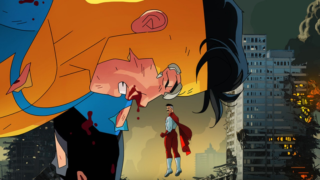 Invincible Poster: Best Superhero Shows on Amazon Prime