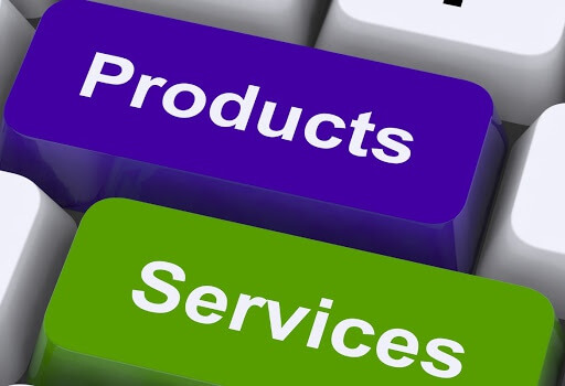 SERVICES AND PRODUCTS: