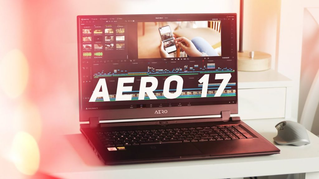 Gigabyte Aero 17: Best Laptops for Graphic Designing and Editing