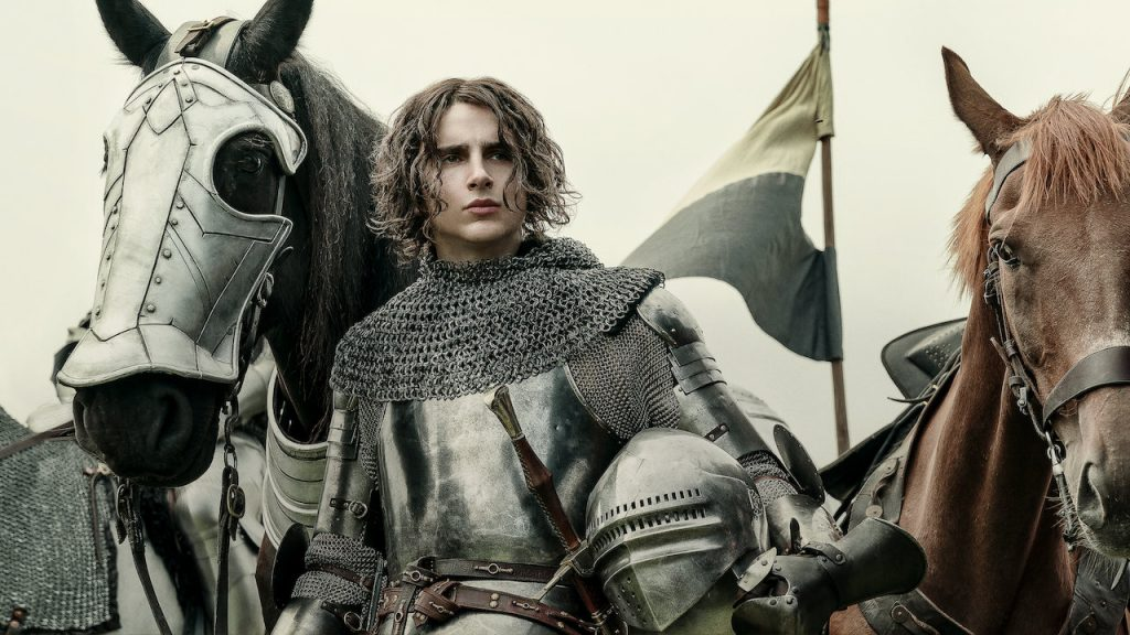 Timothee Chalamet in the King :What are the best war movies?