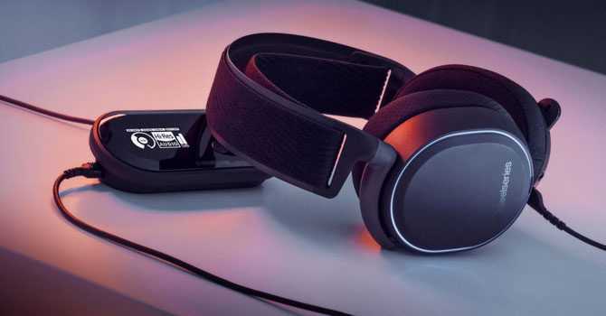 SteelSeries Arctis Pro + GameDAC: Best Over the ear Headphone for gaming