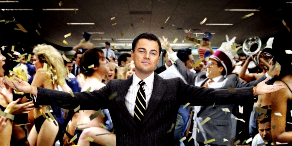 The Wolf of Wall Street: Best movies for MBA students