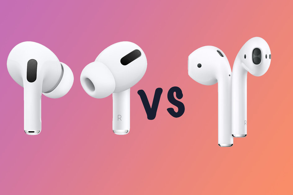 AirPods 2 vs AirPods Pro: Design and Fit