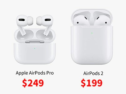 AirPods 2 vs AirPods Pro: Price and Performance