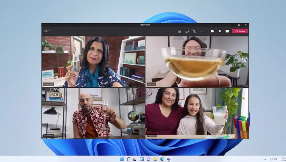 Features of Windows 11: Integrated Teams