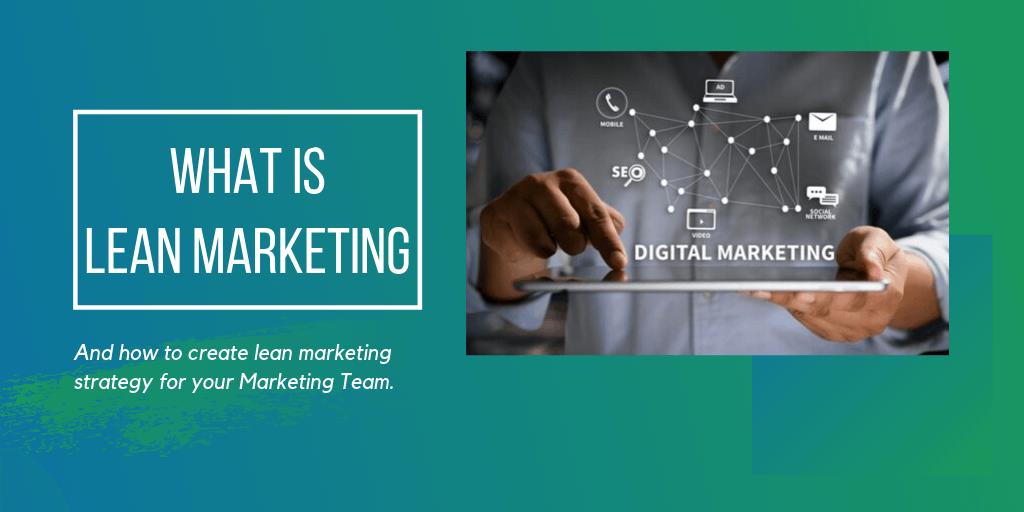 Lean Marketing; Best Market Research Methods