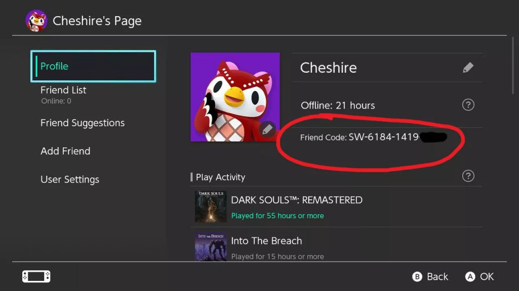How to Find the Nintendo Friend Code?