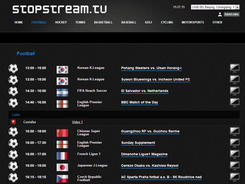 Top firstrowsports Alternatives: Stopstream