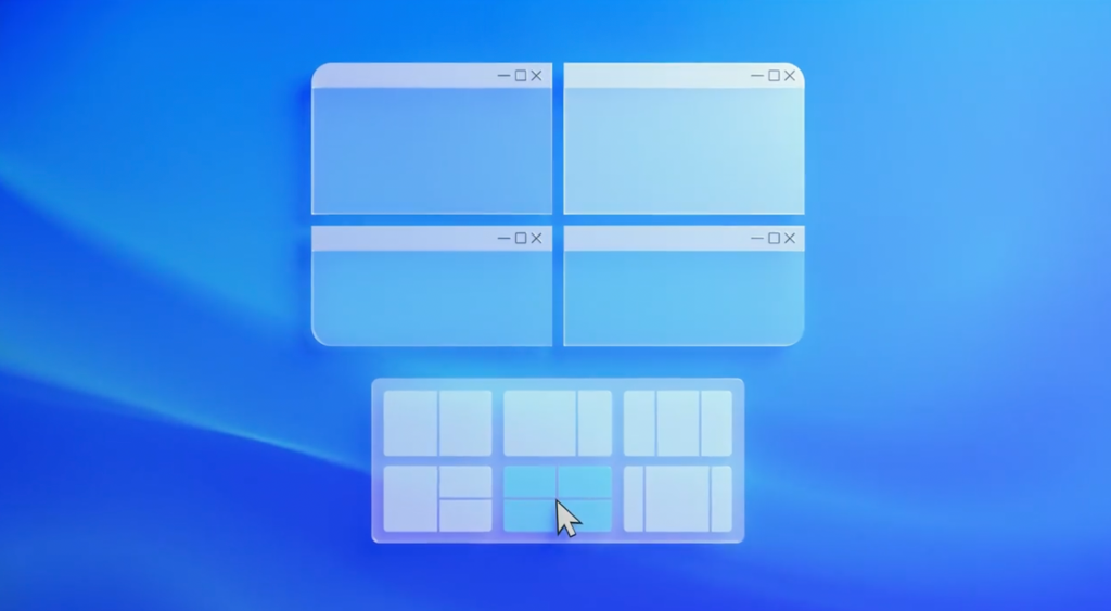 Windows 11 vs macOS: Snap Layouts