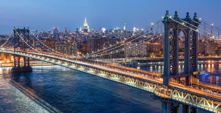 New York City is at number 1 among the Richest states in the US