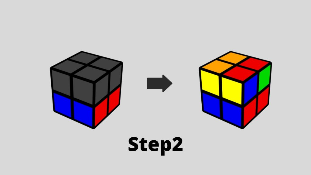 How To Solve Rubik's Cube 2X2: Quick 5 min Guide step 2