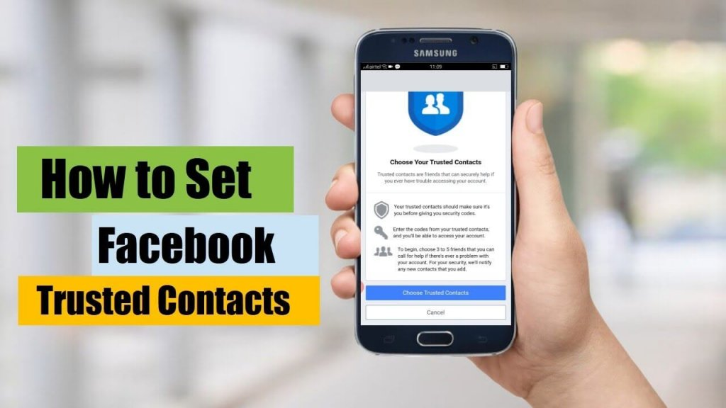 Set Up Trusted Contacts: Best Ways to Recover Deleted Facebook Account