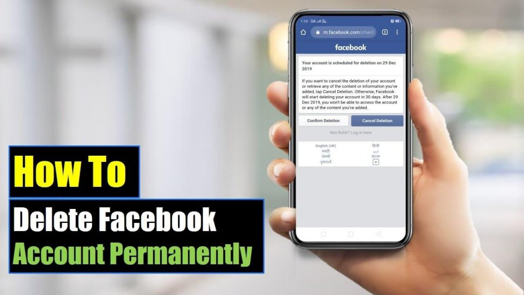Best Ways to Recover Deleted Facebook Account