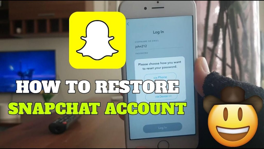 Recover Deleted Snapchat Account
