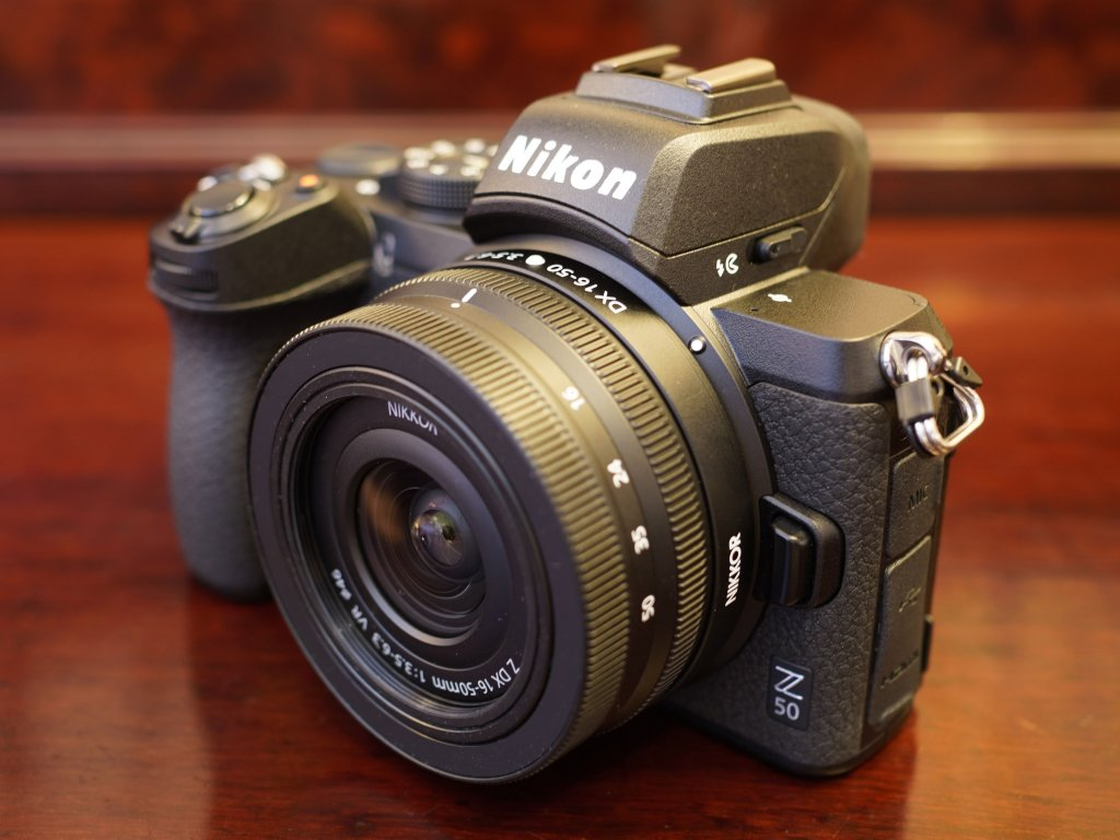 5 Great-Buy Cameras for Vlogging and Streaming under $1500: Nikon Z50