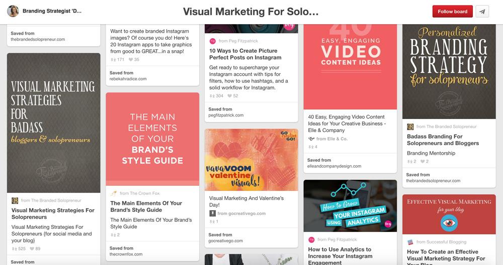 8 Best Social Bookmarking Sites: Pinterest