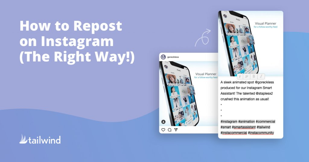 Tailwind: Best Reposting App for Instagram