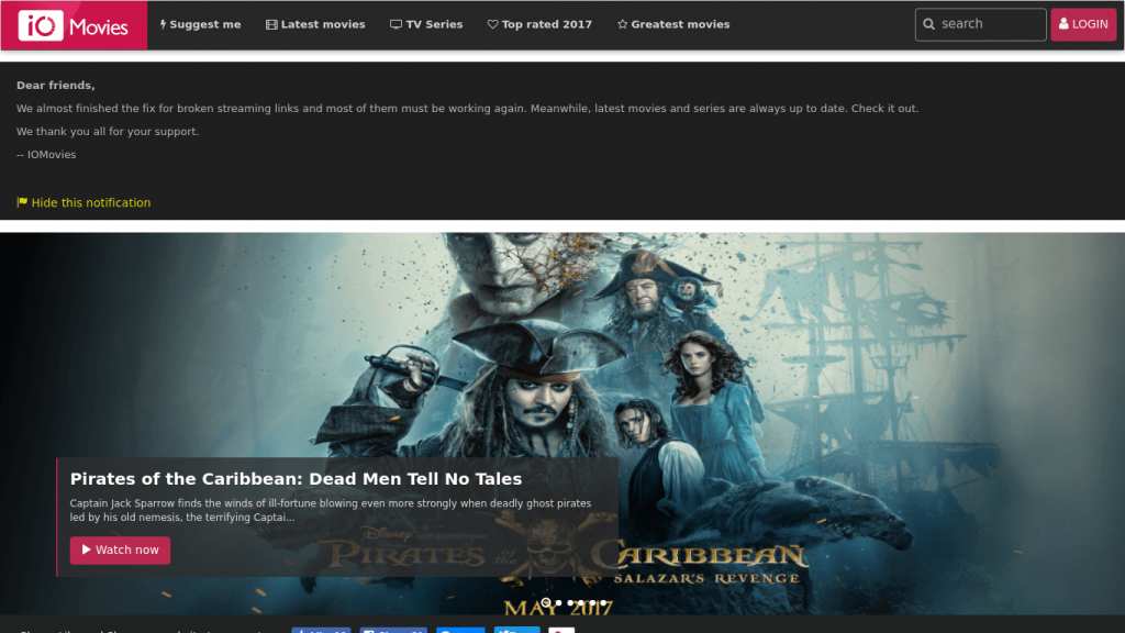 iOMovies: Best Websites to Watch Free Movies Online Without Ads