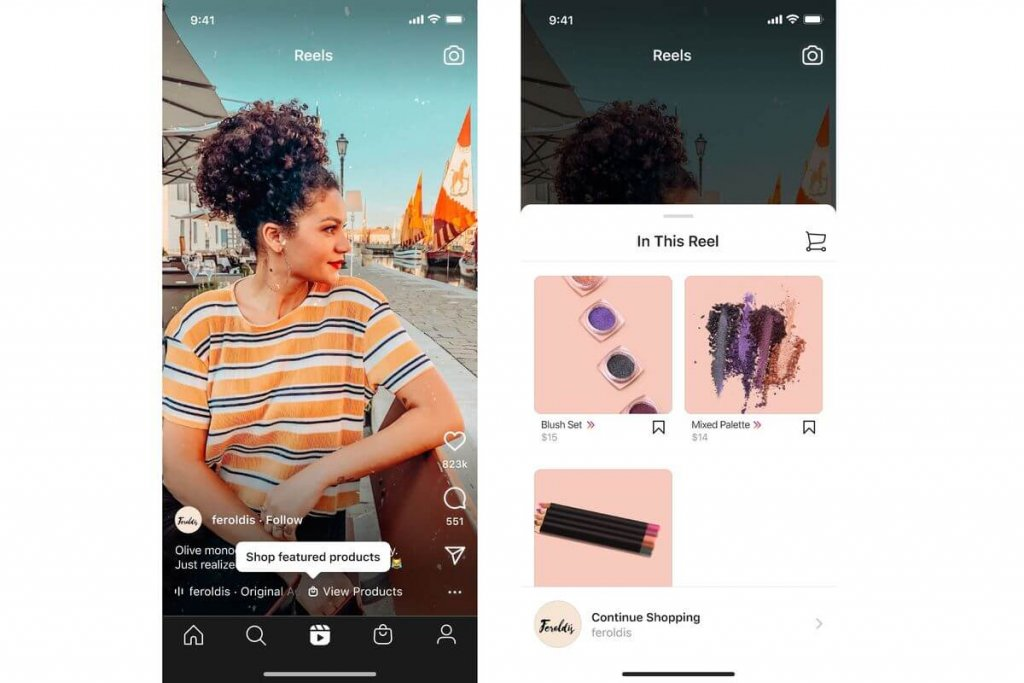 Sell your Products: Make Money on Instagram Reels
