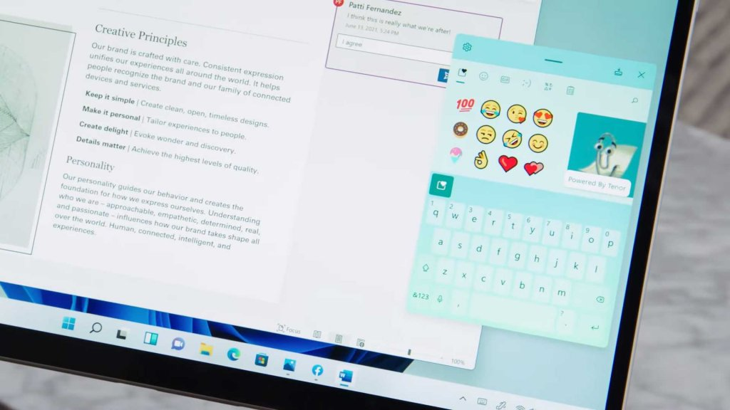 Features of Windows 11: Redesigned Keyboard and Voice Support