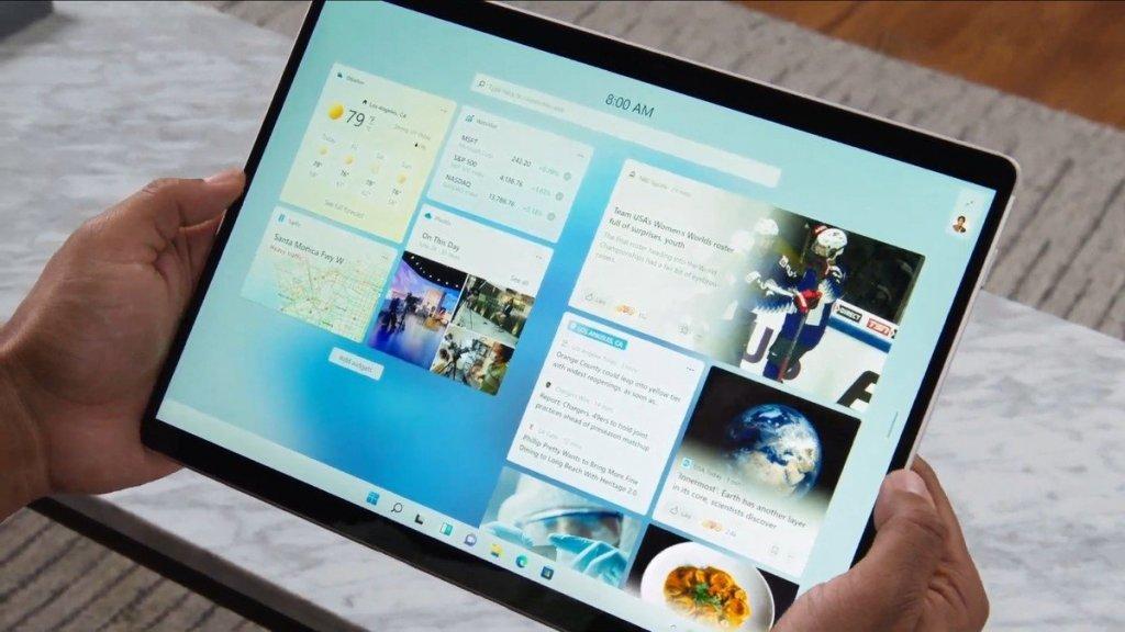 Features of Windows 11: Widgets