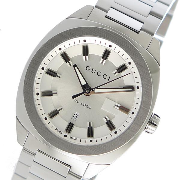 Gucci: Silver GG2570 Watch