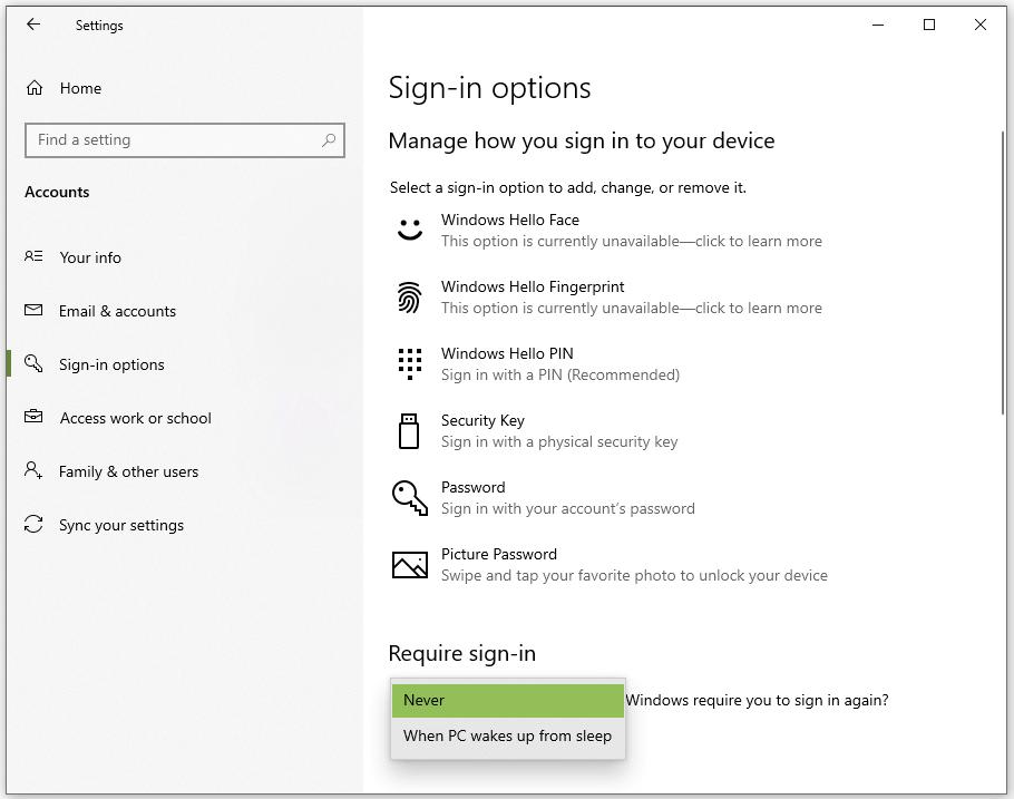 How to Setup Windows 10 Auto Login: Settings
