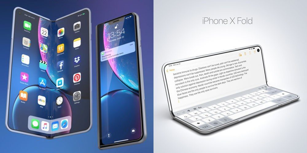 Foldable iPhones