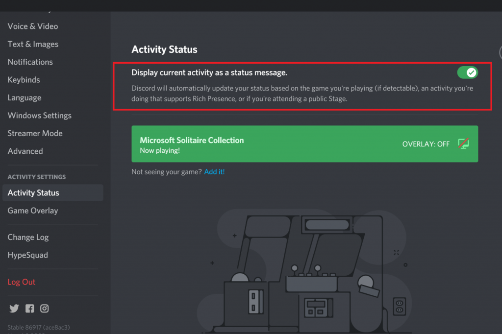 How to Change Discord Playing Status