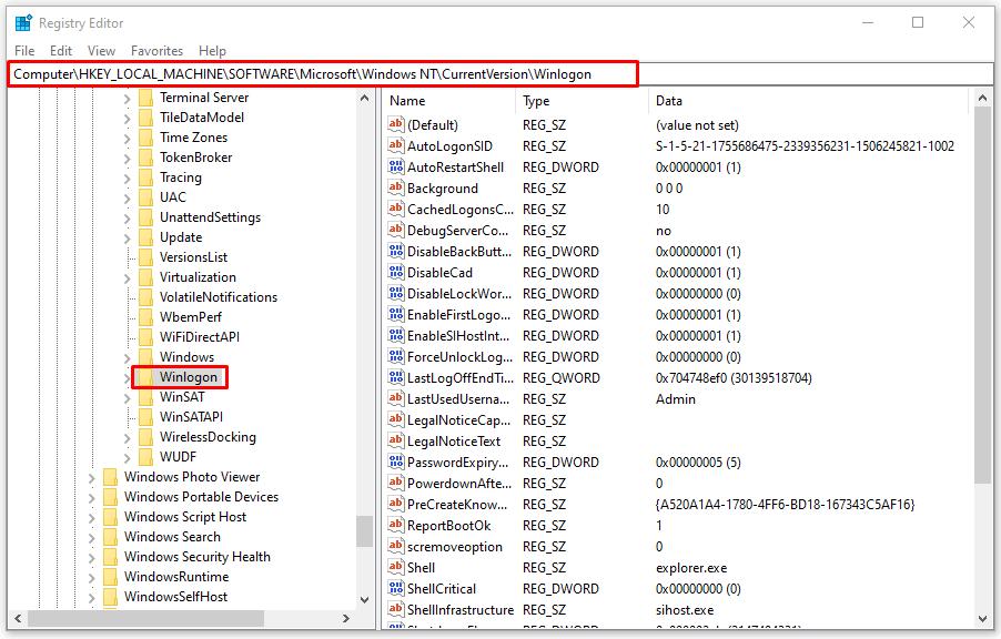 How to Setup Windows 10 Auto Login: Registry Editor