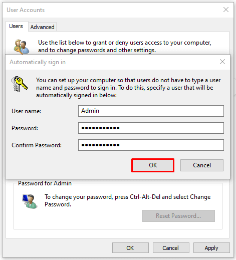 How to Setup Windows 10 Auto Login: User Accounts