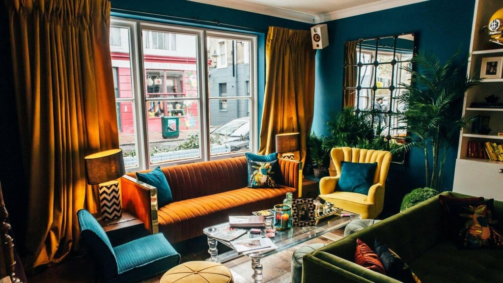 The Little Yellow Door: best brunch places with a view in London