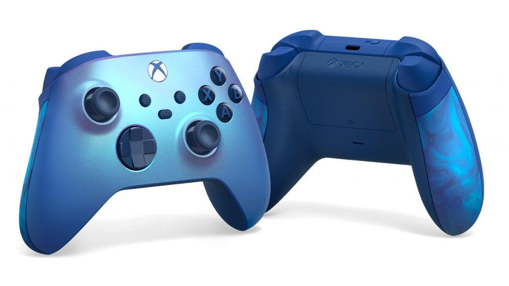 New Xbox Wireless Special Edition Aqua Shift Controller