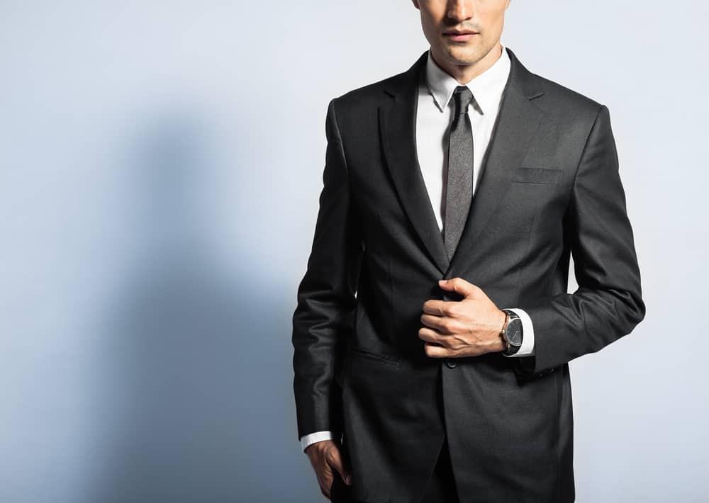 Men in Black Suit