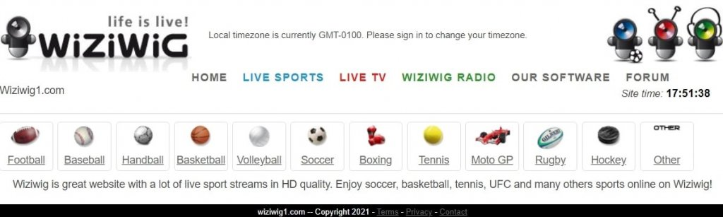 9 Best Free Football Streaming Sites: WiziWig