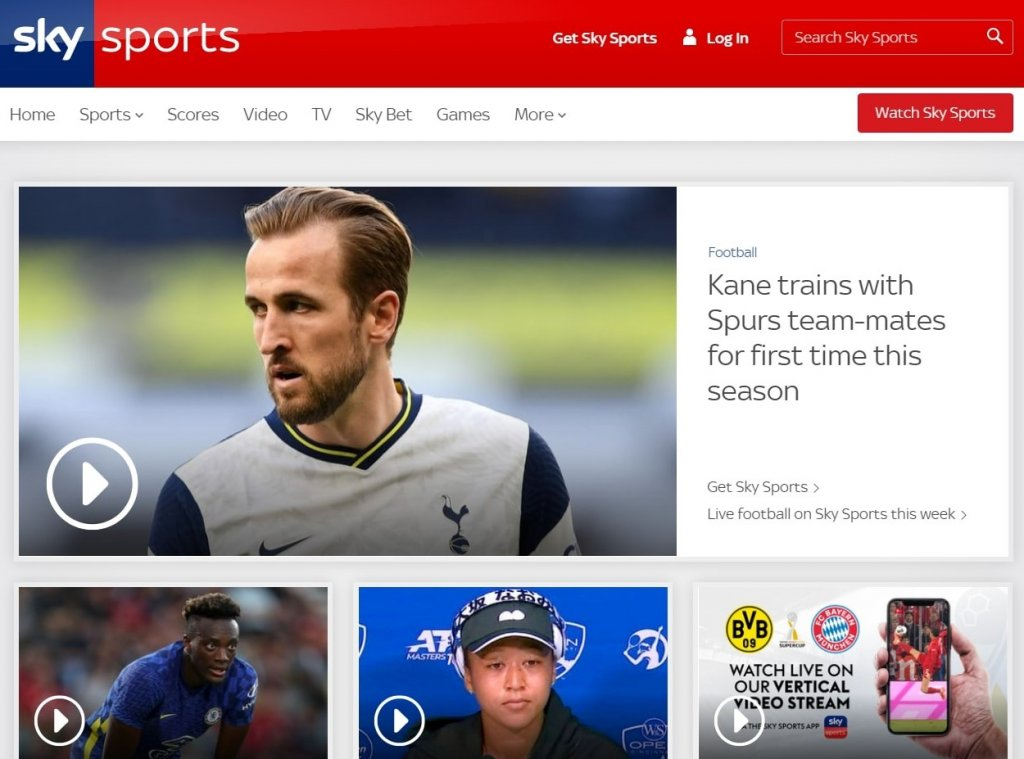 9 Best Free Football Streaming Sites: Sky Sports